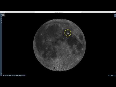 Apollo Moon Landing Sites