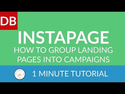 How to Group Landing Pages | Instapage Landing Page Builder