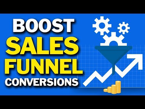SALES FUNNEL STRATEGY | 5 TIPS ON HOW TO BOOST CONVERSIONS