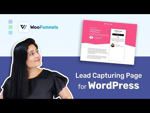 How to Create a Lead Capture Page in WordPress | Sales Funnel Strategy | WordPress Tutorial