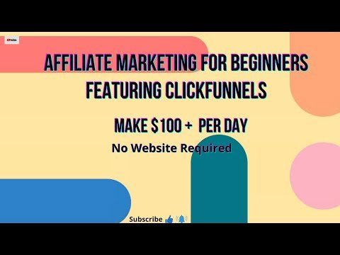 Make Money from Home WITHOUT a Website Using Affiliate Marketing   PERFECT FOR BEGINNERS