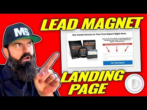 Lead Magnet Landing Page Divi Theme Tutorial