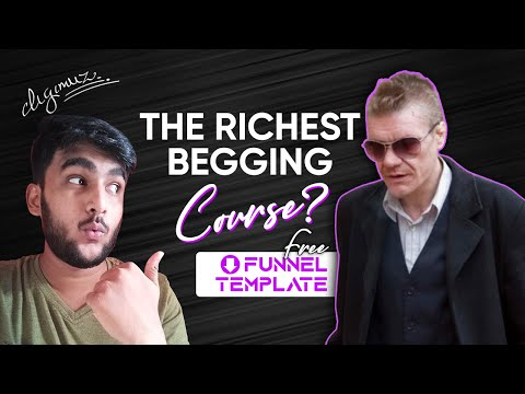 The Beggar Niche Sales Funnel   Course Funnel Template   Muz-Strategy 8   by Digimuz
