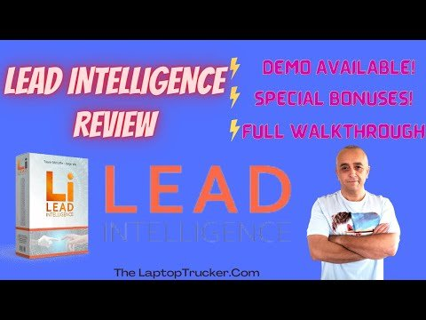 Lead Intelligence Review + Exclusive Bonuses –  Create Quiz Funnels + Blow Up Your Subscriber Lists