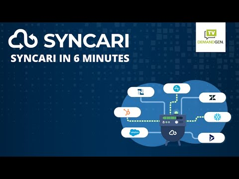 An OVERVIEW of SYNCARI for Data Orchestration