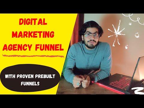 Sales Funnel For Digital Marketing Agency | Sales Funnel For Marketing Agencies