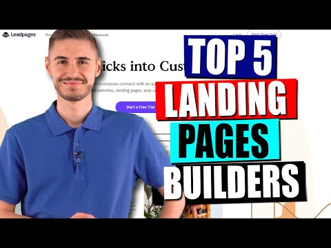 How to Build A Landing Page?💥