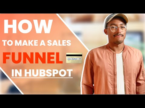 How To Make A Sales Funnel With Hubspot Pages