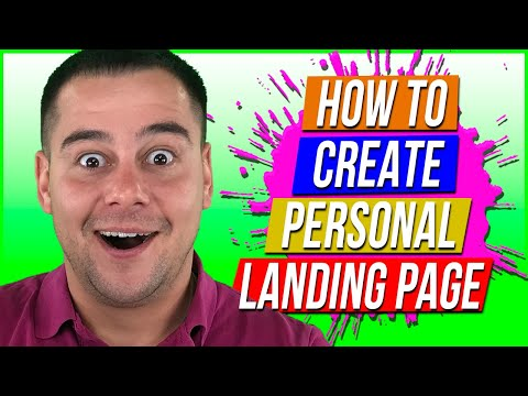 How to Easy Create Landing Pages in 2021🔥