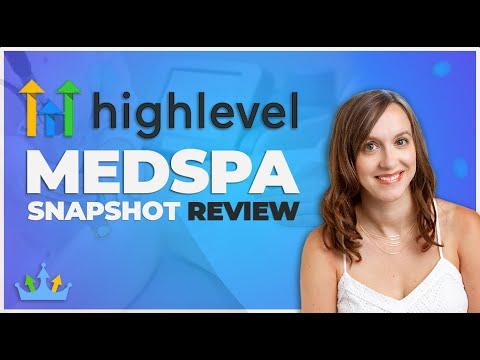 Go High Level Med Spa Snapshot