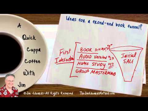 What does a book sales funnel look like?