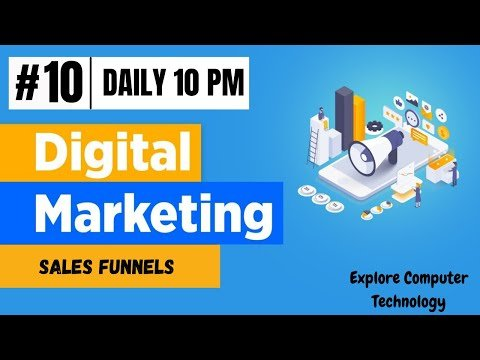 The 4 Step Digital Product Sales Funnel | Digital Marketing Funnel Explained