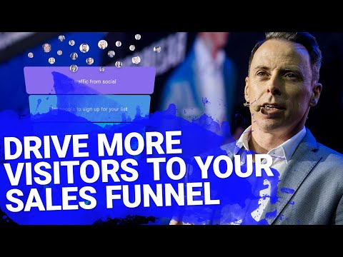 How to Drive More Visitors Using Sales Funnels | GetResponse Conversion Funnel