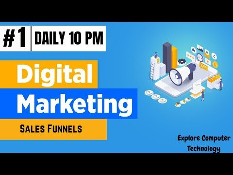 What is a Sales Funnel   Digital Marketing Funnel Explained   How to make Digital Marketing Funnel
