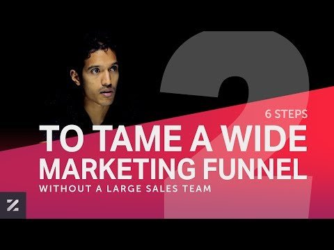 E002   6 Steps to Tame a Wide Marketing Funnel without a Large Sales Team   PART 2   Lazaro Podcast