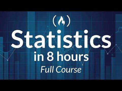 Statistics – A Full University Course on Data Science Basics
