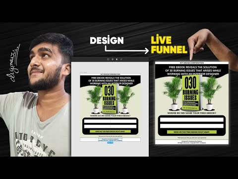 How to convert a Figma Design into a Live Funnel | Groove.cm Tutorial | by Digimuz