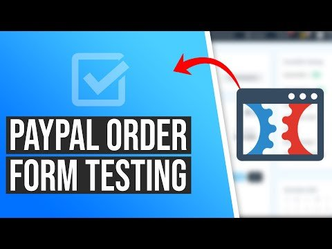 How to Test a PayPal V2 Order Form in ClickFunnels