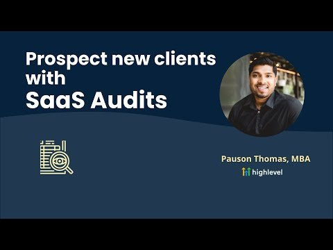 Prospect new clients with SaaS Audits