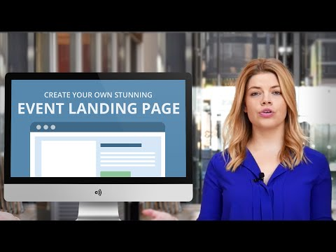 Create an Event Landing Page in Minutes