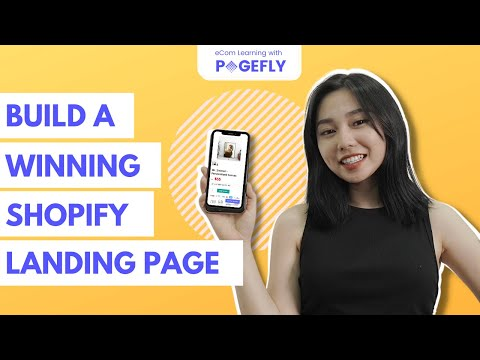 Create  Free Landing Page On Shopify That Sells in 2021: Tips, Tutorials & Give-away