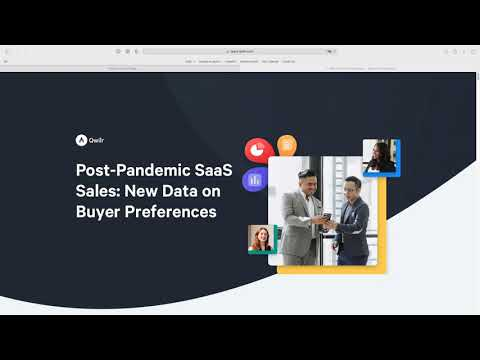 Post-Pandemic SaaS Selling: New Data on Buyer Preferences