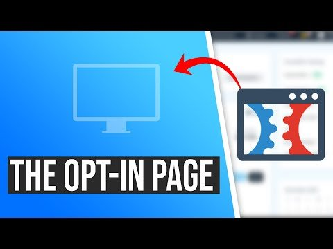 How To Create A ClickFunnels Optin Page