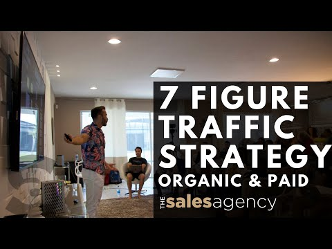 Using Our 7 Figure Traffic Strategy to Scale Your Agency Fast! (Organic & Paid)
