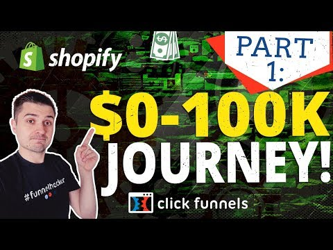 DAY 1 | CLICKFUNNELS VS SHOPIFY CHALLENGE: $0 TO $100K JOURNEY | DROPSHIPPING