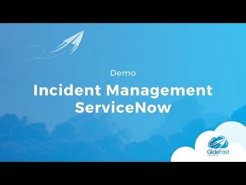ServiceNow Incident Management Demo