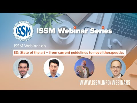 ISSM Webinar on ED: State of the art – from current guidelines to novel therapeutics