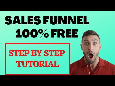How to Make a Sales Funnel for Affiliate Marketing for FREE 2021 (Step-By-Step Tutorial)