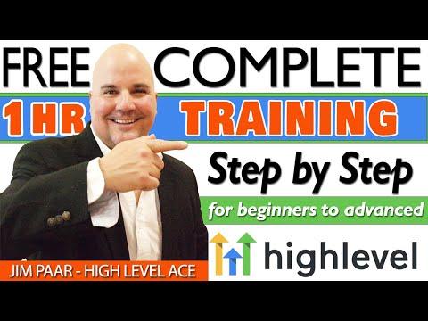 Go High Level Complete Training Step by Step Walkthrough – Go High Level Tutorial
