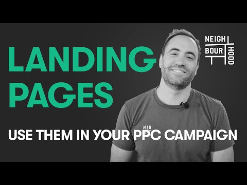 How to Use Landing Pages for your PPC Campaign