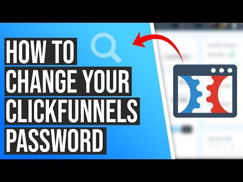 How to change your ClickFunnels Account Password