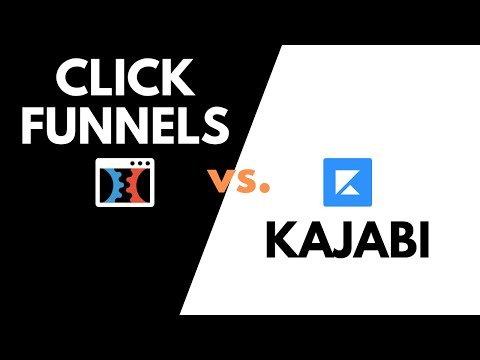 ClickFunnels vs. Kajabi Membership Area Comparison