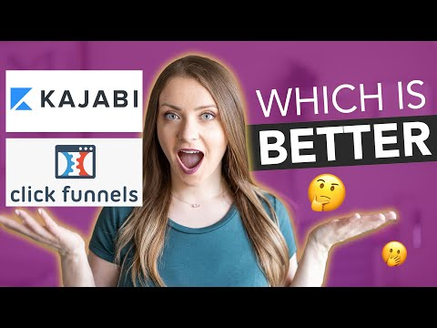 Kajabi vs Clickfunnels: Comparison & Review (and why I use BOTH!)