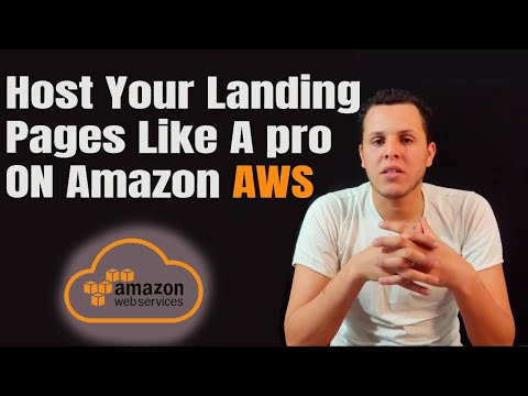 host landing pages on amazon AWS with CDN and HTTPS