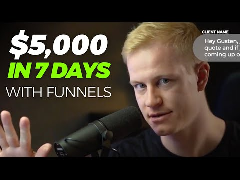 $5,000/WEEK with Clickfunnels (As a Funnel Agency)