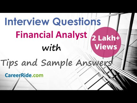 Financial Analyst Interview Questions and Answers – For Freshers and Experienced Candidates