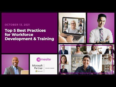 Top 5 Best Practices for Workforce Development & Training