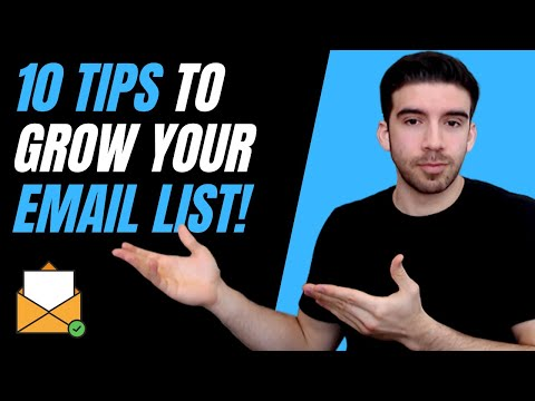 10 Easy Ways To Grow Your Email List Fast (2020)
