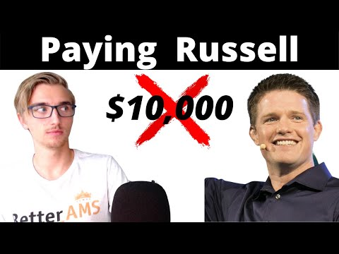 """Paying Russel Brunson $10,000 for his """"ClickFunnels Certified Course"""" 