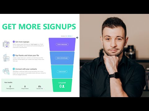 Build your marketing funnel and get more customers with your autoresponder | Earn with Chris