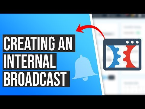 How to Create A ClickFunnels Internal Broadcast to Your List