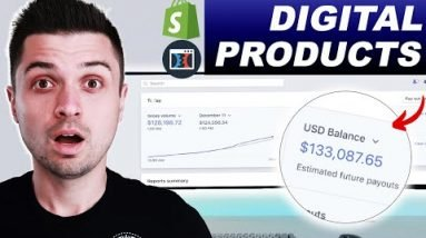 Revealing My $10K DIGITAL Product FUNNEL!! (Promote & Sell Ebooks & Info EASY)